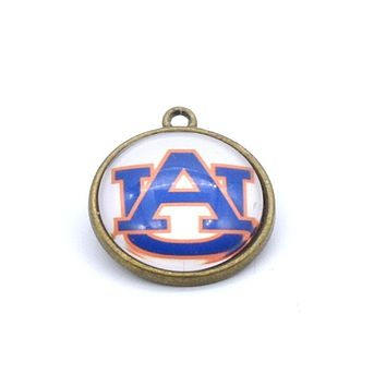 Pendant Accessories NCAA Auburn Tigers Charms Accessories for Bracelet Necklace for Women Men Basketball Fans Paty Fashion 2017