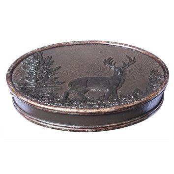 Hautman Brothers Rustic Montage Soap Dish (Brown)
