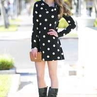 Kelly Polkadot Sweater Tunic
