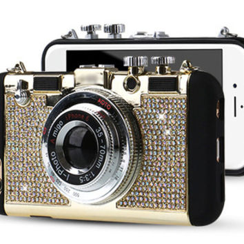 Retro Bling SmartPhone Case with Strap