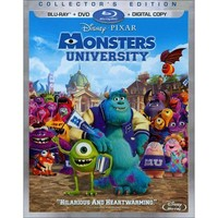 Monsters University (3 Discs) (Includes Digital Copy) (Blu-ray/DVD) (W)