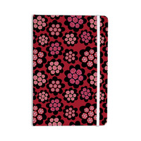 "Jane Smith ""Garden Pods Repeat"" Pink Floral Everything Notebook"