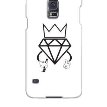 diamond crown graffiti - Samsung Galaxy S5 Case