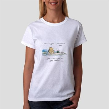 Classic Women Tshirt Pooh And Piglet Quote