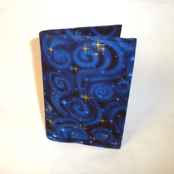 Night Passport Case starry night sky passport by redmorningstudios
