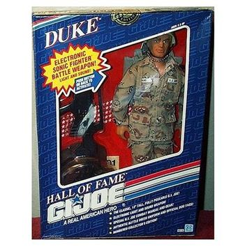G.I. Joe Duke with Electronic Sonic Fighter Weapon 12`` Action Figure [Toy]