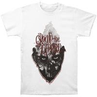 Crown The Empire Men's  Beak T-shirt White Rockabilia