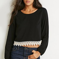 Crochet Trim Top