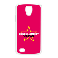 Celebrity Hater White Hard Plastic Case for Galaxy S4 Active by Chargrilled