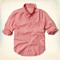 Slim Fit Pocket Shirt