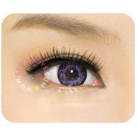 GEO Lotus Violet Circle Lenses Colored Contacts Cosmetic Color Circle Lens   EyeCandy's