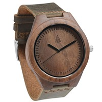 Wooden Watch // Chocolate Walnut Boyd