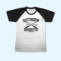 Team Slytherin Quidditch Harry Potter Slytherin House Logo short sleeve - Gift for friend - Present
