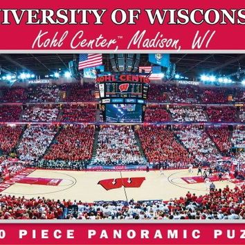 NCAA University of Wisconsin Basketball - 1000 Piece Jigsaw Puzzle