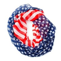 Stars and Stripes Infinity Scarf | Claire's