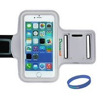 Armband For iPhone 5/5s/5c,Dreamwit®Gym Running Sport ArmBand Protective Anti-slip Cover Case For iPhone 5/5s/5c iPod Touch 5 - White