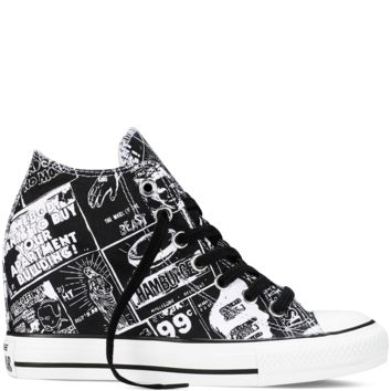 Chuck Taylor All Star Lux Wedge Andy Warhol