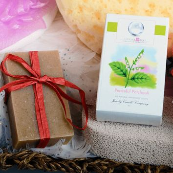 Peaceful Patchouli Jewelry Soaps (Comes with Jewel!)