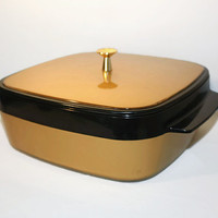 Insulated Casserole Carrier, Thermo-Serve Hot Cold Food Server, Travel Container
