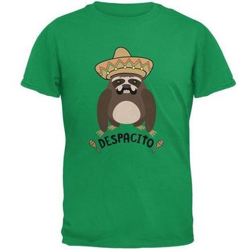 CREYCY8 Despacito Means Slowly Funny Sloth Pun Mens T Shirt