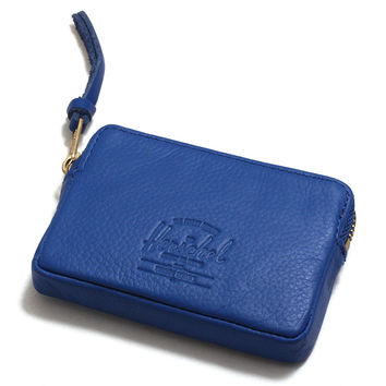 Oxford Wallet Cobalt Pebbled Leather