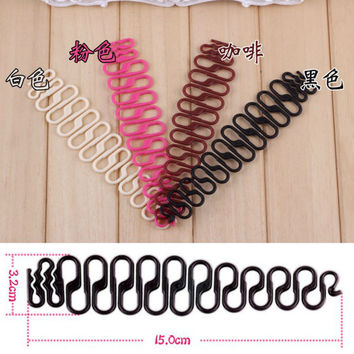 YouMap Magic French Hair Braider Ponytail Bun Braided Holder DIY Twist Braid Tool Hair Accessories Y10R2C