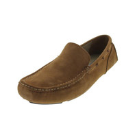 Marc New York Mens Astor Leather Slip On Driving Moccasins