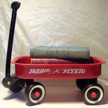 Vintage Mini Radio Flyer Red Wagon