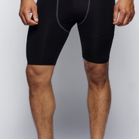 BEAST BLACK COMPRESSION SHORTS