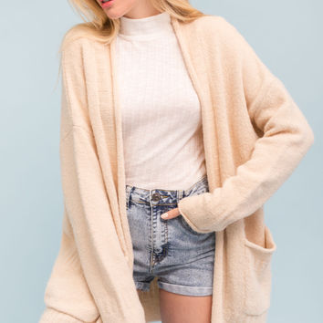 Loose Fit Knit Cardigan
