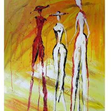 Models  Canvas Wall Art