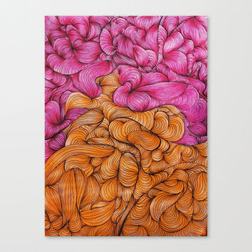 Woven Together Canvas Print by DuckyB (Brandi)
