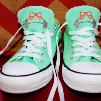 CREYONB Monogrammed Crossfit Inspired Converse Shoes