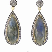 A Lux Collection Labradorite Tear Drops