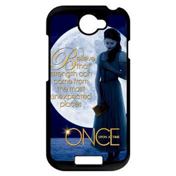 Once Upon A Time Belle Full Moon HTC One S Case