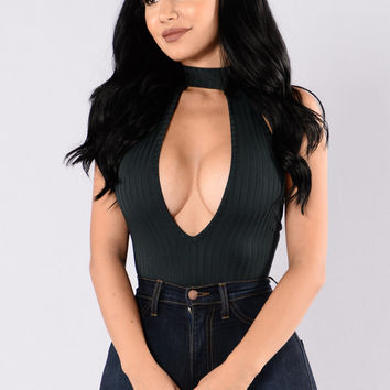 Jolie Bodysuit - Hunter Green