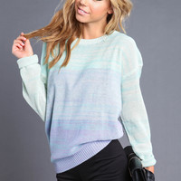 GRADIENTS BOXY SWEATER