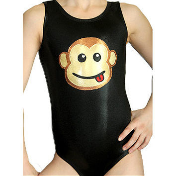 Gymnastics Leotards Girls Mystique Monkey Leotard Gymnast Gymnastics sizes Toddler - Adult cxs cs cm cl axs as am al