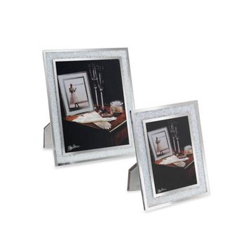 Oleg Cassini Crystal Diamond Collection Picture Frame