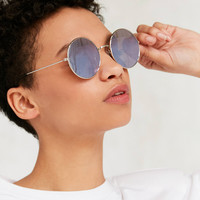 Daisy Round Metal Sunglasses | Urban Outfitters