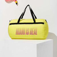UO Souvenir Miami Packable Duffle Bag - Urban Outfitters