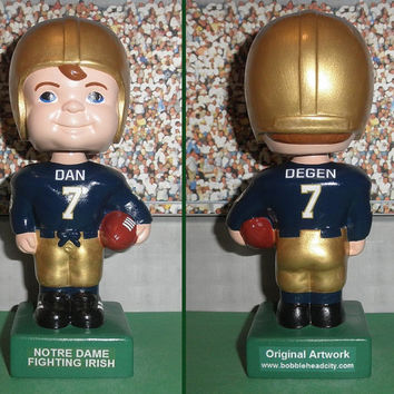 Notre Dame Fighting Irish Custom Bobblehead Cute Football Decor Personalized Unique Football Gift Dad Father Husband Father's Day