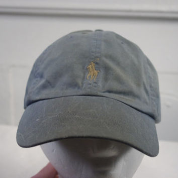 Vintage 90s Polo Ralph Lauren hat cap DIRTY