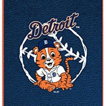 Major League Baseball-Detroit Tigers - Baby Mascot design on a Orange iPhone 5s  5 Thinshield Snap-On Case