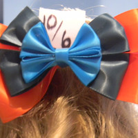 Mad Hatter Inspired Disney Bow