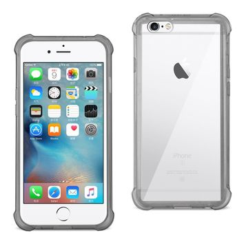 New Bumper Case Air Cushion Protection In Clear Black For iPhone 6/ 6S/ 7