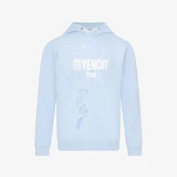 DCCKJN6 Givenchy hole long sleeve sweater