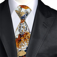 Floral Men's Trendy Tie
