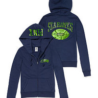 Seattle Seahawks Zip Hoodie - PINK - Victoria's Secret