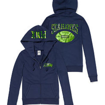 the best attitude 9ae23 5f773 Seattle Seahawks Zip Hoodie - PINK - from VS PINK